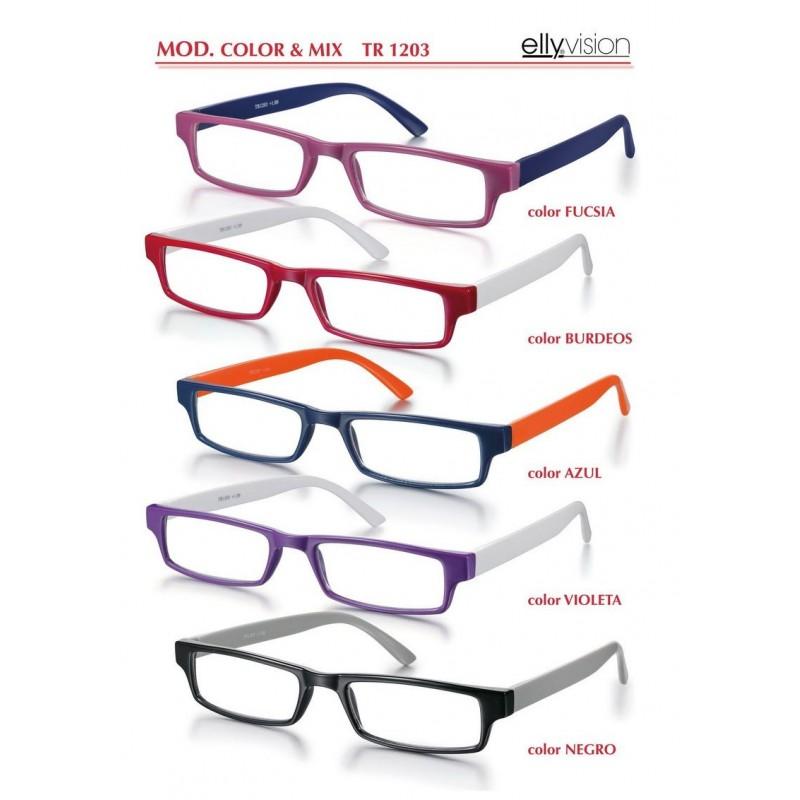Gafas de lectura para mujer elegantes lentes de resina