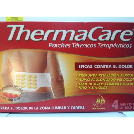 THERMACARE PARCHE LUMBAR 4 UNIDADES