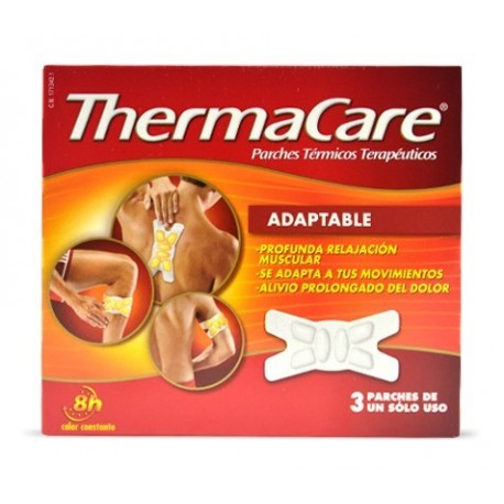 THERMACARE PARCHE ADAPTABLE 3 UNIDADES