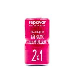 Balsamo Labial Rosa Mosqueta Repavar 2x1