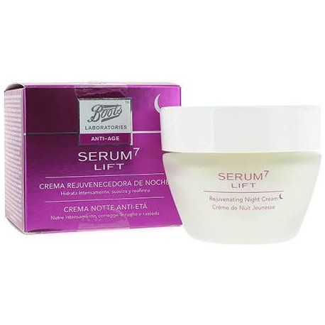 Serum 7 lift crema rejuvenecedora de noche