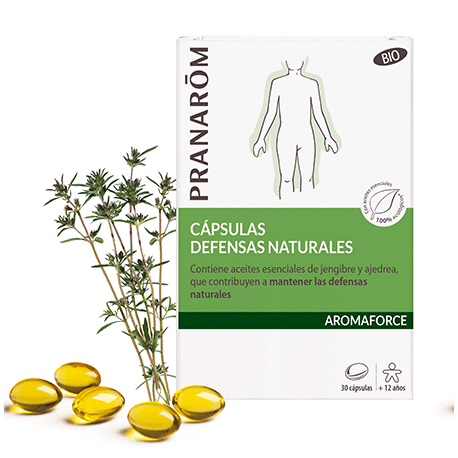 Capsulas Defensas Naturales Aromaforce