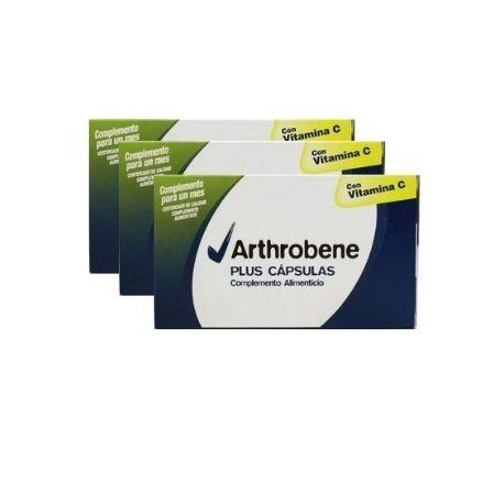 Arthrobene cápsulas oferta 3 cajas